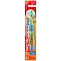 четка за зъби за деца със залепяща поставка много мека