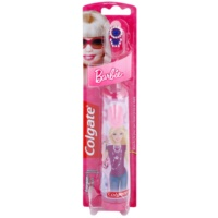 Colgate Kids Barbie Escova de dentes com bateria para crianças extra suave