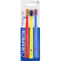 Curaprox 5460 Ultra Soft zobne ščetke 3 kos