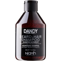 DANDY Beard & Hair Shampoo sampon hajra és szakállra