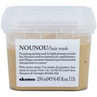maseczka odżywcza do włosów zniszczonych zabiegami chemicznymi