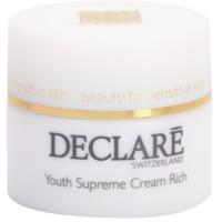 подхранващ и хидратиращ крем за подмладяване на кожата на лицето