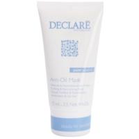mascarilla limpiadora para reducir la piel grasa del rostro