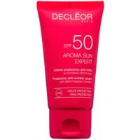 Crema pentru protectie anti-riduri SPF 50