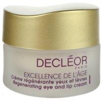 Regenerating Eye And Lip Anti-Wrinkle Cream 50+ For Mature Skin