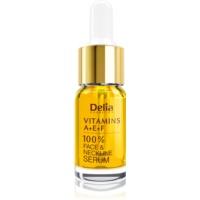 Delia Cosmetics Professional Face Care Vitamins A+E+F ser pentru contur pentru fata si decolteu