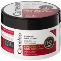 Keratinmaske für gefärbtes Haar oder Strähnen