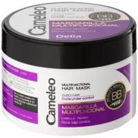 Multifunktions-Maske für welliges Haar