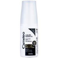 flüssiges Kreatin im Spray für beschädigtes Haar