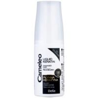 keratina líquida em spray para cabelo danificado