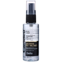 jedwabiste serum do włosów z olejkiem arganowym