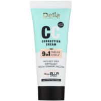 Delia Cosmetics Optical Blur Effect Correction Cream Mattifying CC Cream against Symptoms of Fatigue