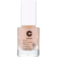 Delia Cosmetics Coral професионална грижа за нокти 10в1