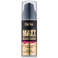 Delia Cosmetics Matt Forever fond de teint léger teinte 41 35 ml
