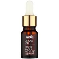 Delia Cosmetics Professional Face Care Argan Oil intenzívne regeneračné a omladzujúce sérum s argánovým olejom na tvár, krk a dekolt
