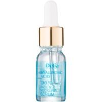 Delia Cosmetics Professional Face Care Hyaluronic Acid intenzív ráncfeltöltő hatású ránctalanító szérum hialuronsavval arcra, nyakra és dekoltázsra