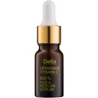 Delia Cosmetics Professional Face Care Vitamin C bőrélénkítő szérum C-vitaminnal arcra, nyakra és dekoltázsra