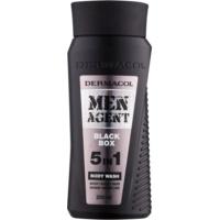 Dermacol Men Agent Black Box душ-гел с масло  5 в 1
