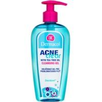 gel de limpeza e desmaquilhante para pele problemática