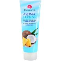 relaksacijski gel za prhanje s kokosovim oljem
