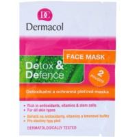 razstrupljevalna in zaščitna maska za obraz za vse tipe kože