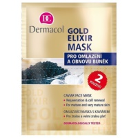 Dermacol Gold Elixir Gesichtsmaske mit Kaviar