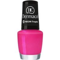 Dermacol Neon neonfarbener Nagellack