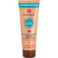 leite corporal refrescante after sun para duche