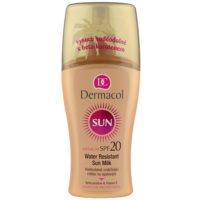 Dermacol Sun Water Resistant vízálló napozótej SPF 20