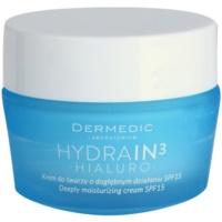 crema de hidratación profunda SPF 15