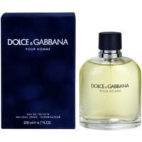 Dolce & Gabbana Pour Homme Eau de Toilette für Herren 200 ml