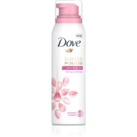 Dove Rose Oil spumă pentru duș 3 in 1