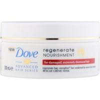 regenerační maska pro velmi poškozené vlasy