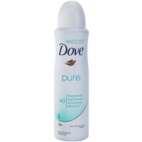 Dove Pure desodorante antitranspirante en spray