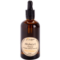 Cosmetic Argan Oil On Face, Body And Hair