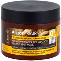 kremasta maska za poškodovane lase