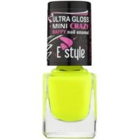 E style Mini Crazy smalto neon per unghie finte e naturali