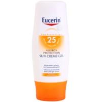krem-żel do opalania dla skóry z alergią na słońce SPF 25