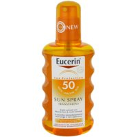 Eucerin Sun transparentny spray do opalania SPF 50