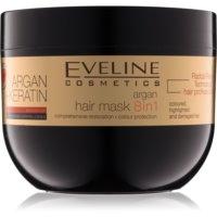Eveline Cosmetics Argan + Keratin máscara para cabelo com queratina e óleo de argan
