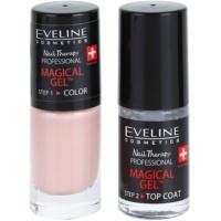 Gel Nail Varnish without UV/LED Sealing
