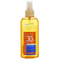 aceite solar en spray SPF 30