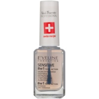 Eveline Cosmetics Total Action esmalte endurecedor para uñas 8 en 1
