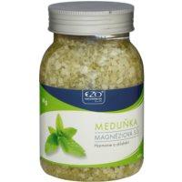 EZO Melissa magnézium-só fürdéshez teljes kikapcsolódással