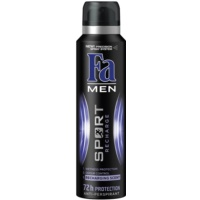 Fa Men Sport Recharge antitranspirantes em spray