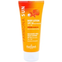 Protective Susncreen Lotion with Macadamia Oil SPF 50