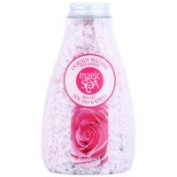 kristályos fürdősó virág illattal