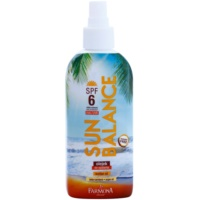 aceite solar en spray SPF 6