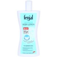 leite corporal para pele sensível