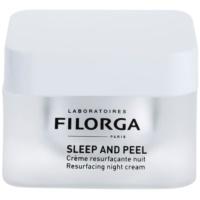 Filorga Medi-Cosmetique Sleep and Peel megújító éjszakai krém az élénk és kisimított arcbőrért